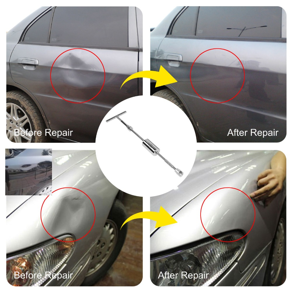 PDR įrankiai Grįžtamojo plaktuko dažymas be dažų Dent remonto - Įrankių komplektai - Nuotrauka 5