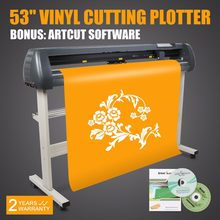 "Novo 53 ""cortador de vinil máquina plotter corte artcut software(China)"