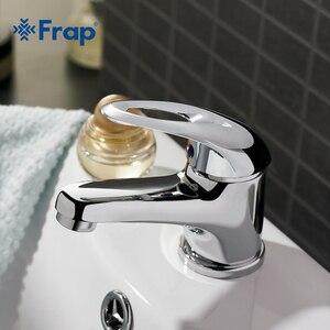 Image 2 - Frap קלאסי סגנון אגן מגופים סיפון רכוב קר וחם מים מיקסר יחיד ידית Torneira F1003