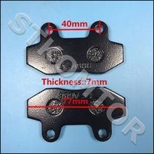2 Sets 4PCS Jianshe 250CC JS250 ATV Quad Front Left and Right Brake Pads