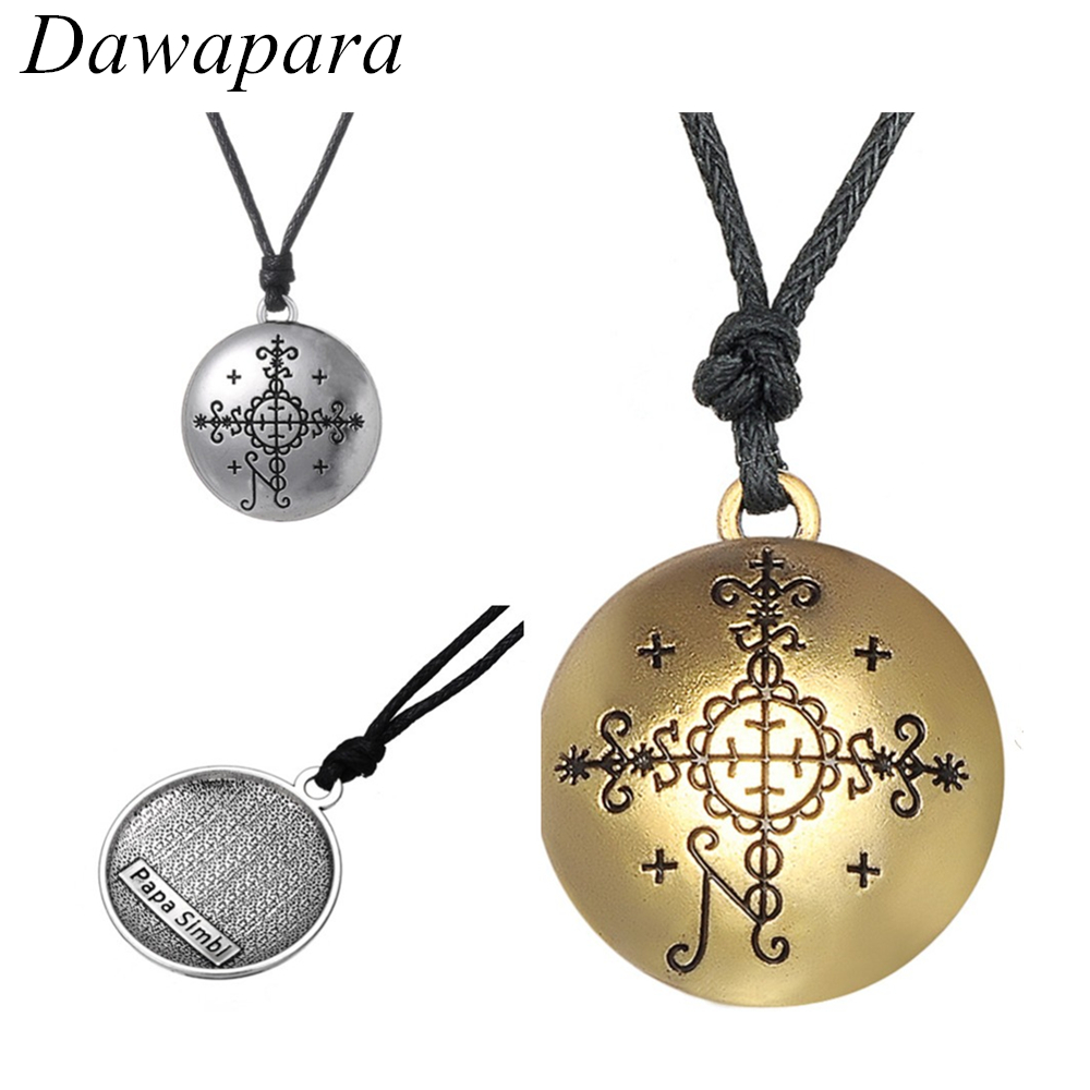 Dawapara Supernatural Voodoo Pendants Necklaces Huddi Amulet and Talisman Jewelry Hoodoo Charms