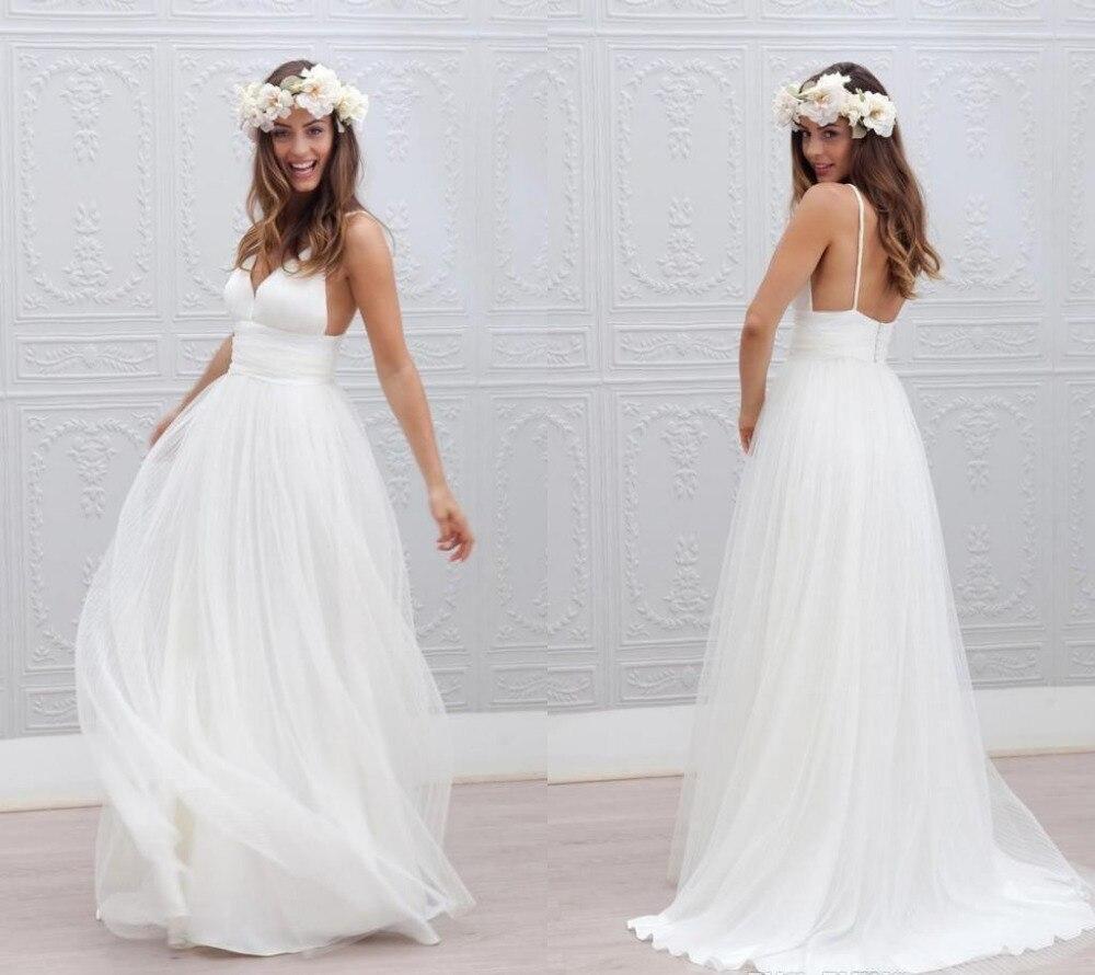 81e4edc98be Simple Strapless Beach Wedding Dresses - Gomes Weine AG