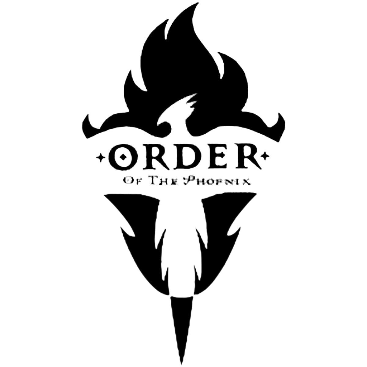 Jordan Wall Sticker Harry Potter Order Of The Phoenix Cosplay Tattoo For Body