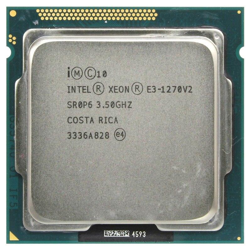 Intel Xeon E3 1270 V2 3 5GHz LGA1155 8MB Quad Core CPU Processor E3 1270 V2 Intel Xeon E3-1270 V2 3.5GHz LGA1155 8MB Quad Core CPU Processor E3 1270 V2 SR0P6