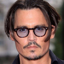 Vintage Sunglasses Full Rim johnny depp Men Women Fashion Li