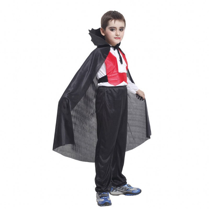 Dracula Vampire Boy Toddler Kids Halloween Costume-in Boys ...