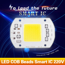 LED COB Lamp Chip 5W 20W 30W 50W 220V Smart IC Driver Fit For DIY LED Floodlight