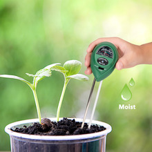 цена на 3 In 1 High Quality Soil Water Moisture Humidity Meter PH Tester For Garden Plant Flower Testing Tool