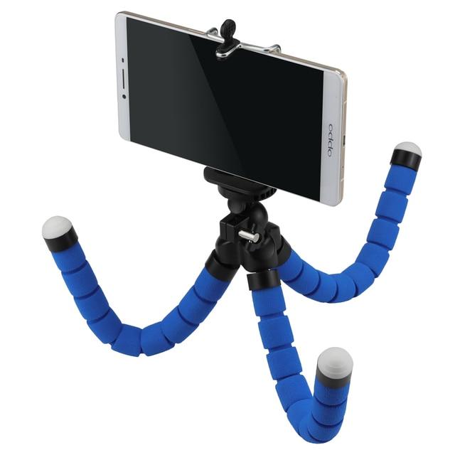 huge discount c2266 03434 US $4.48 21% OFF|SHOOT Portable Sponge Octopus Tripod for GoPro 7 6 SJCAM  Yi 4K DSLR Nikon Canon Fuji Camera iPhone Sony Phone Tripod Mount Stand-in  ...