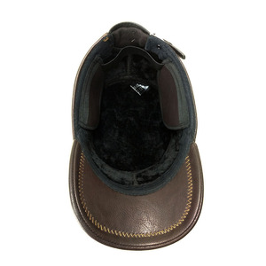Image 5 - Fibonacci Caps For Men Baseball Caps High Quality Leather Patchwork Adjustable Flatcap Winter Hats Snapback Middle Aged Dad Cap