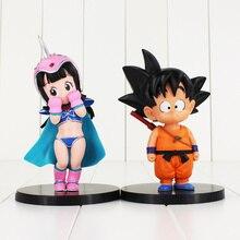 12-16cm Dragon Ball Z Son Goku Krillin Master Roshi Oolong Super Saiyan Gokou PVC Action Figure Kids Toys DBZ Kuririn Chichi