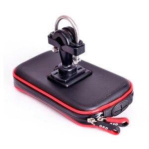 Image 2 - Bolsa impermeable para soporte de teléfono para motocicleta GPS, para manillar de bicicleta, con ranuras para tarjetas