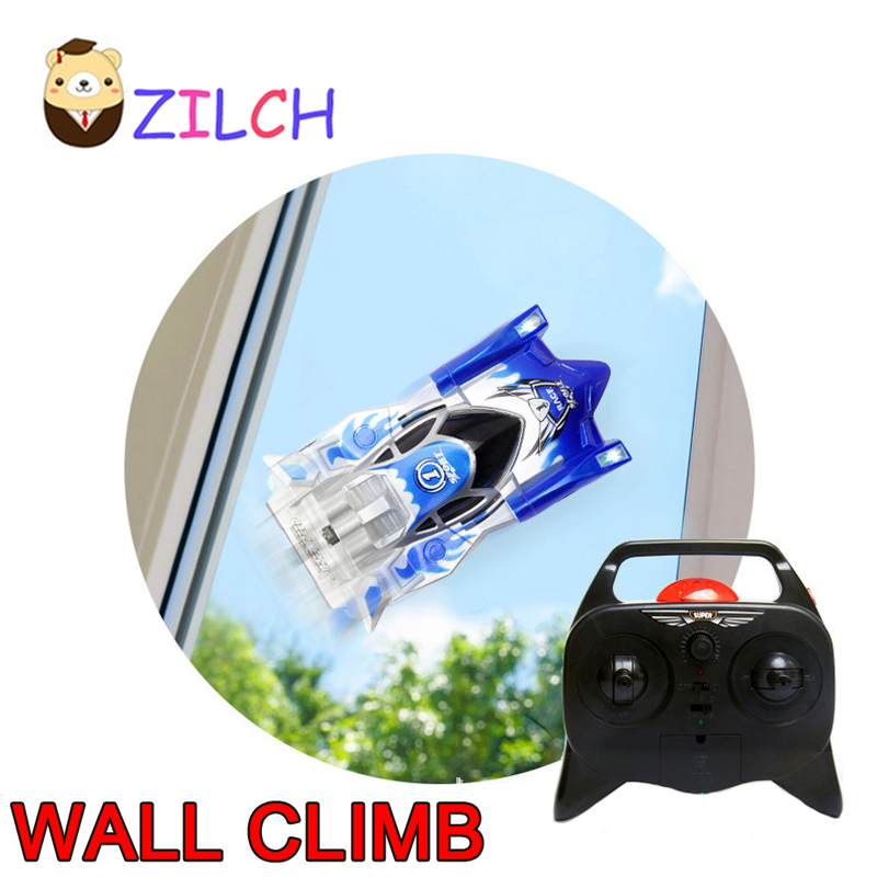 Hot Electric Remote Control 90 Degrees Vertical Wall Glass Climbing Car Tank Wireless Model Toys Hand feeling Stunt RC Cars