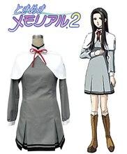 Envío Libre Tokimeki Memorial GS2 Escuela Secundaria para Niñas Uniforme de Cosplay del Anime