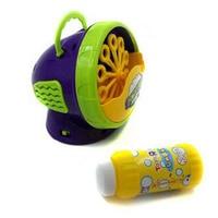 Electronic Automatic Bubble Machine Green Plastic Bubble Blowing Soap Bubbles Baby Toys