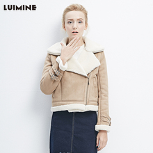 Winter New Thick Lambs Wool Jacket Short Jacket Women's Jacket