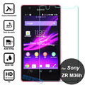 0.26mm Explosion-proof Tempered Glass Film For Sony Xperia ZR M36h C5502 C5503 LCD Screen Protector pelicula de vidro