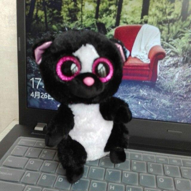 Whosesale Price 2016 Flora Skunks 18PCs 15cm TY BEANIE BOOS Plush Toys Stuffed animals nano dolls Children's Day toy gift