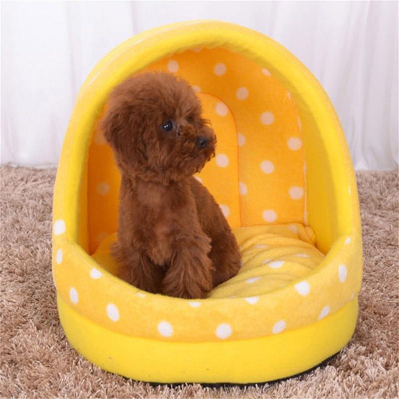 Productos para mascotas Winter Warm Soft Cat House Pet Saco de dormir Encantador