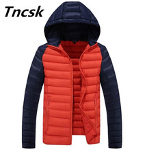 New Cotton-Padded Clothing Casual Men's Jackets High Quality Fashion Winter Outwear Jacket Parka Male Wadded Coats