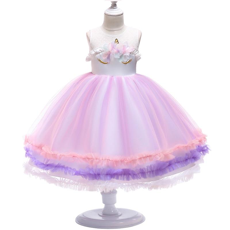Exquisite   Flower     Girl     Dresses   Ruffles Beaded   Flower   Lace Tulle Ball Gown Children Prom   Dress