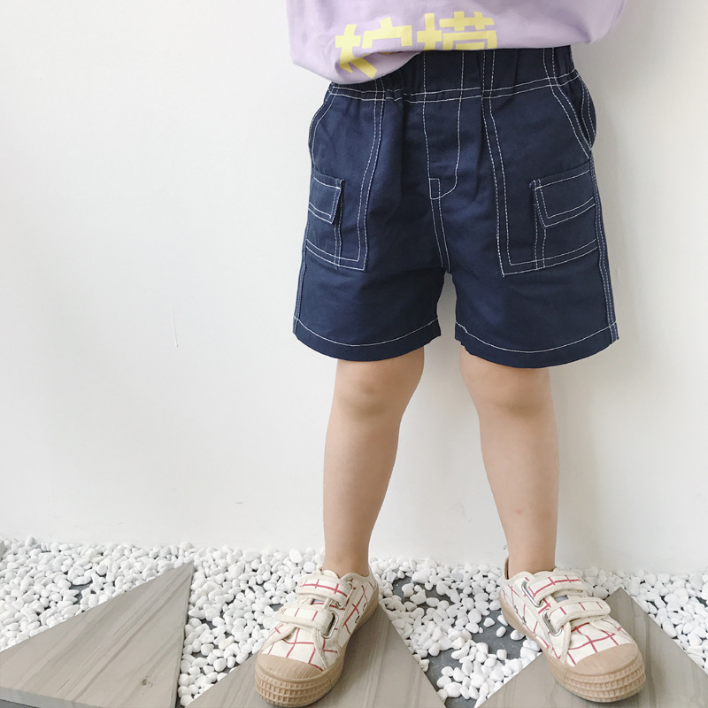 100% QualitäT Kleinkind Mädchen Sommer Kleidung Baby Casual Denim Shorts 2018 Neue Mode Patchwork Tasche Kurze Hosen Kinder Beiläufige Breite Shorts 1-7y Zahlreich In Vielfalt