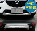 Auto front and rear skid plate skid bar for  cx 5 stainless steel , 2pcs/lot