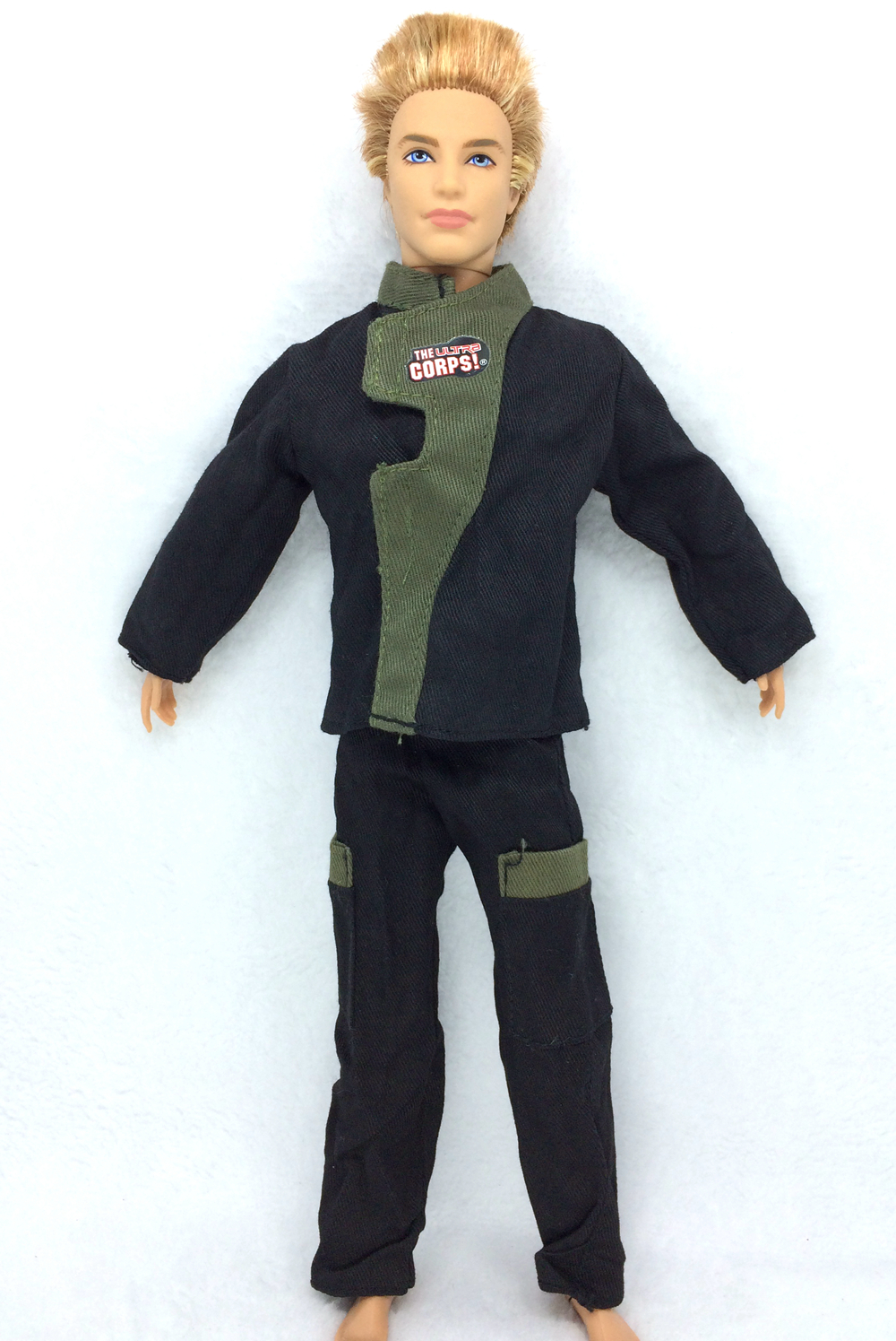 NK Authentic Prince Garments Fight Police Uniform Cop Outfit For Barbie Boy Male Ken Doll For Lanard  1/6 Soldier  Finest Present 016A