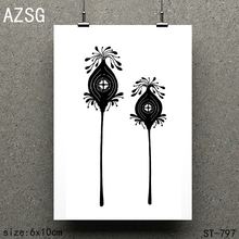 AZSG Fruit house Clear Stamps/seal for DIY Scrapbooking/Card Making/Photo Album Decoration Supplies
