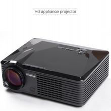 2500lumens 800*480 LED Home Theater 3D Audio Video Projector Dynamic 1080P Full HD 4K Double HDMI & USB Cinema HDTV DVB-T VGA
