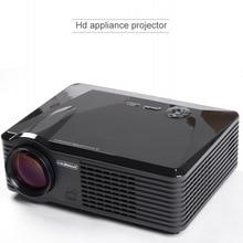2500lumens 800*480 LED Home Theater 3D Audio Video Projector Dynamic 1080P Full HD 4K Double HDMI & USB Cinema HDTV DVB-T VGA