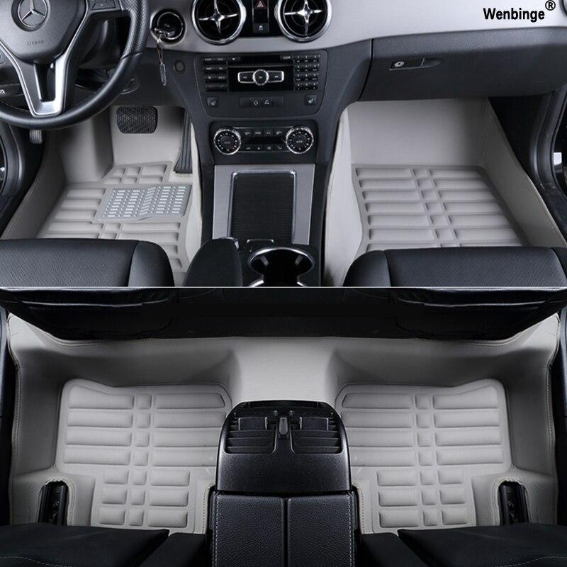 Изготовленный на заказ половой коврик автомобиля для Nissan все модели Н22 ГТ-Р фуга квест GENISS Кашкай Примечание Мурано Теана Тиида марта Альмера х-трай LANNIA