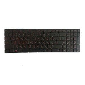 Image 2 - Новый для ASUS GL752 GL752V GL752VL GL752VW GL752VWM ZX70 ZX70VW G58 G58JM G58JW G58VW подсветкой Русский RU Клавиатура ноутбука черный