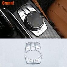Crnnnl Mass Abs Adornment Multimedia Keys Cover Car Accessories For Bmw G30 G31