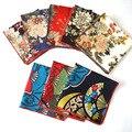 Мужчины Винтаж Пион Япония Стиль Цветочные Платок Свадьба Карманный Площадь Ханки BWTYX0008