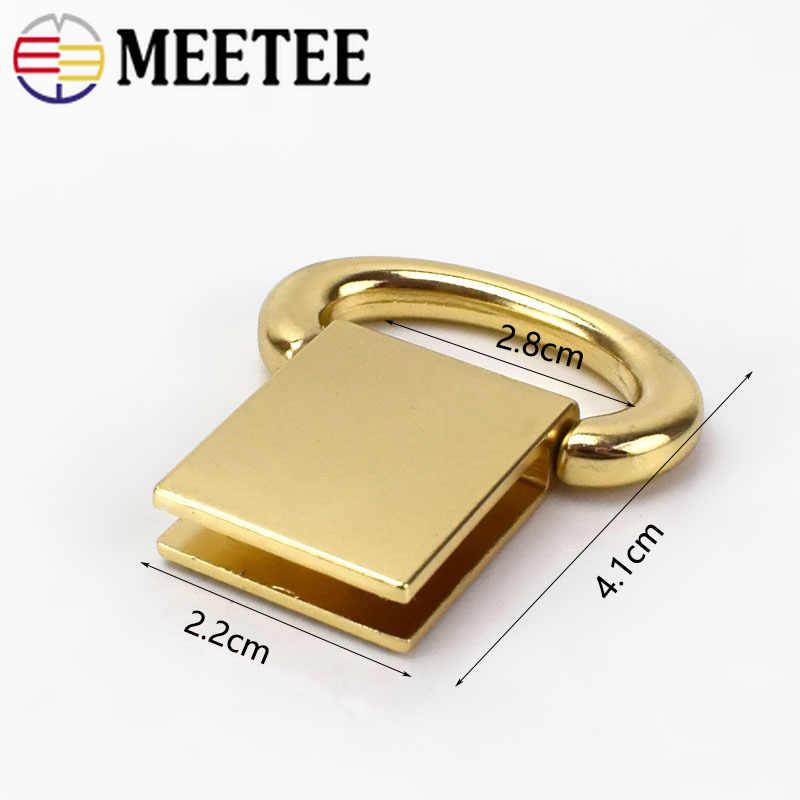 Piezas Metal Bolso Accesorios Hardware Hebilla Asas Meetee Diy Oro Para Bolsa De Clap Gancho 2 Conector 80 Correa Percha F1 vm0y8ONnw