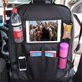 Auto Styling Rücksitz Tasche Auto Organizer Multi-Tasche Lagerung Tasche Tasse Halter Touchscreen Tablet Ständer iPad Halter Auto telefon Beutel