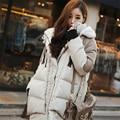 2016 Hot Sale! Women Causal Coats Fashion Down Parka Women Winter Jacket Women Cotton Coat long Style  A029
