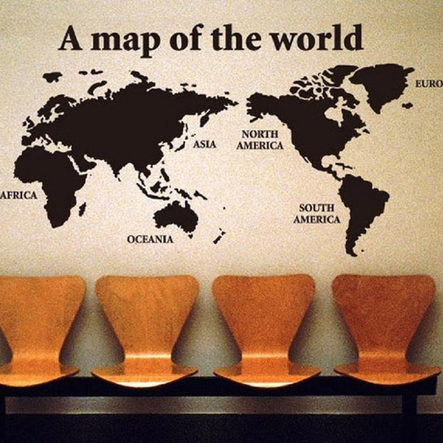 Big global world map pvc wall sticker home decor wallpaper creative big global world map pvc wall sticker home decor wallpaper creative wall decals fg gumiabroncs Image collections