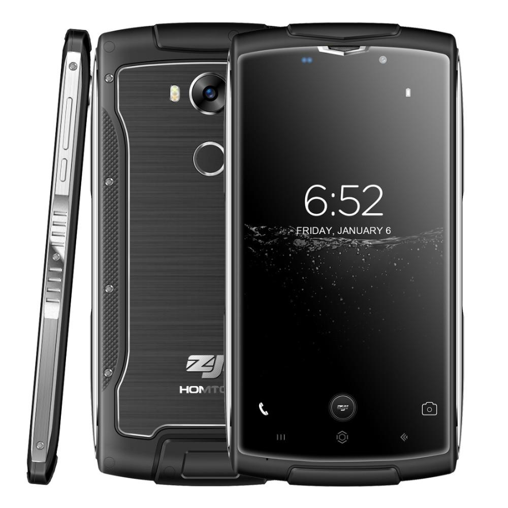 Original Homtom ZOJI Z7 LTE 4G Smartphone 5.0 inch Android 6.0 MTK6737 Quad Core 1.3GHz 2GB RAM 16GB ROM OTA Waterproof Phone