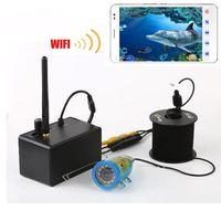 Erchang Новые Подводные Камера для телефона Wifi Рыболокаторы подводной Cam с 1000TVL 15 м кабель инфракрасного для IOS и Android