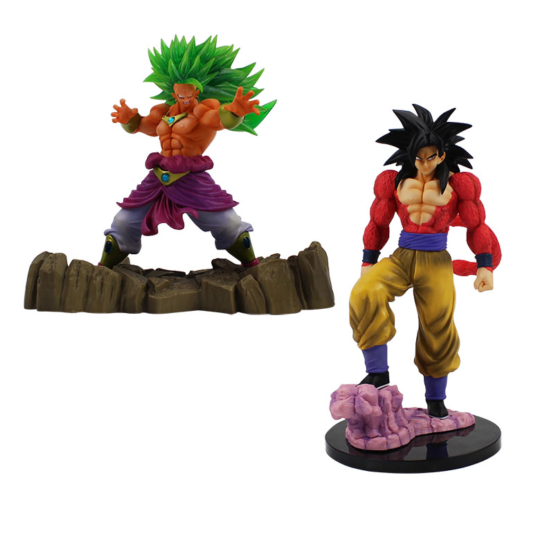 16-26cm Dragon Ball Z Super Saiyan 4 Son Gokou Son Goku Kakarotto Broli PVC Action Figure Model Toy cool collection model toy the son gohan dragon ball z action figure model 20cm pvc son goku figure toys for collection kids toy