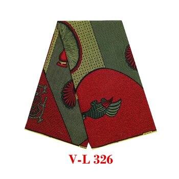 2019 The lastest design veritable Batik wax african dutch block guaranteed high quality V-L 326