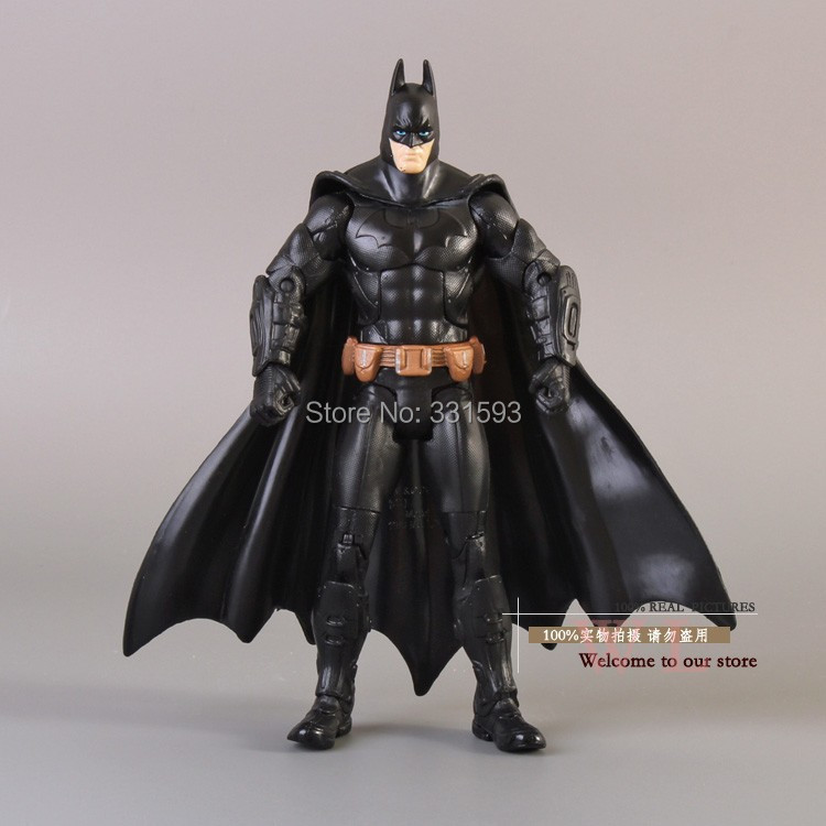 Super Heroes Batman The Dark Knight Rises Action Figures Doll Toy Model Movie Version PVC Figure Toys 18CM Free Shipping funko pop super heroes batman 01 vinyl figure collection model toy doll 10 5cm