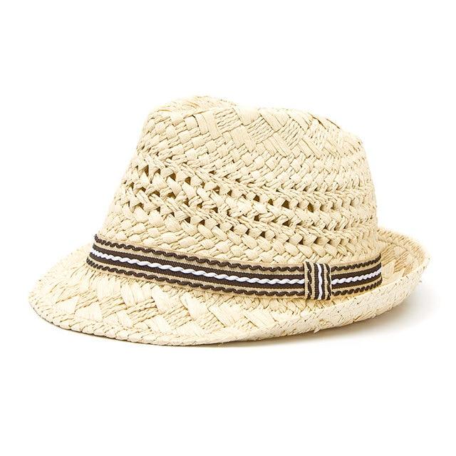 53c38a43 Fashion Handwork Women Summer straw Sun hat Boho Beach Fedora hat Sunhat Trilby  Men Panama Hat Gangster Cap Good Pack 25