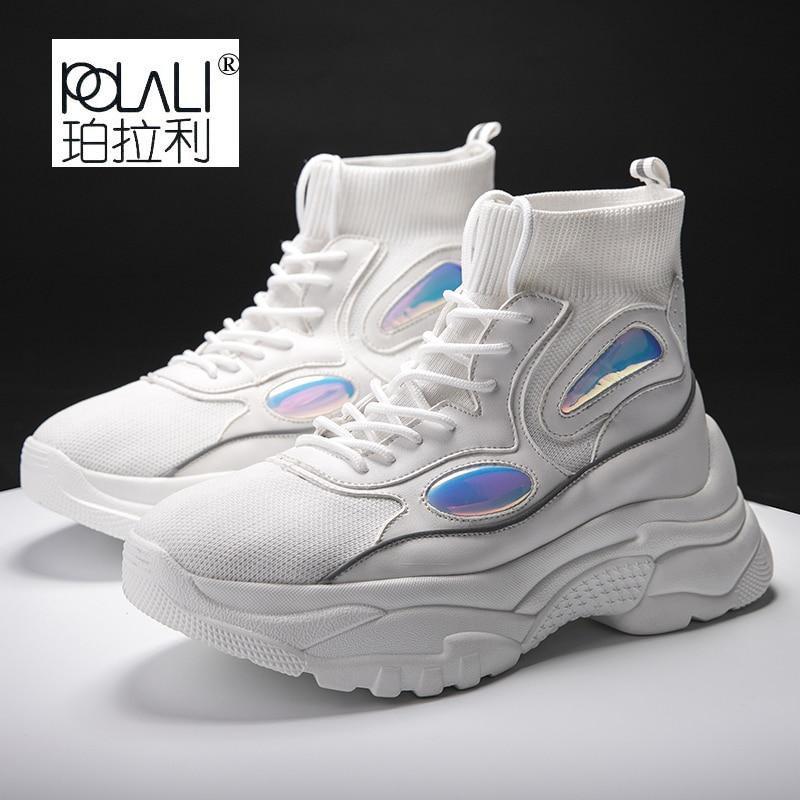 Mode blanc Chaussures 2018 Top Appartements D50 Hommes Été Ou Maille Vulcan Sneakers De High Vulcanity Femmes Respirant Noir xIwxY4qTg
