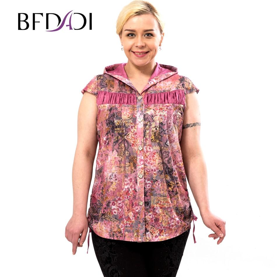 BFDADI 2016 Fashion T-shirt Casual Womens