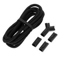 Нескользящие Дизайн ПВХ 3 м кабель Провода Обёрточная бумага Tidy Организатор Устройства для сматывания шнуров шнур протектор Управление Про...