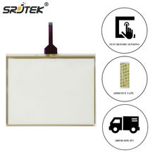 Srjtek 10.4 Inch For G.T GUNZE U.S.P 4.484.038 G-27 8 Wires JAT710 Touch Screen Digitizer Panel Glass(China)