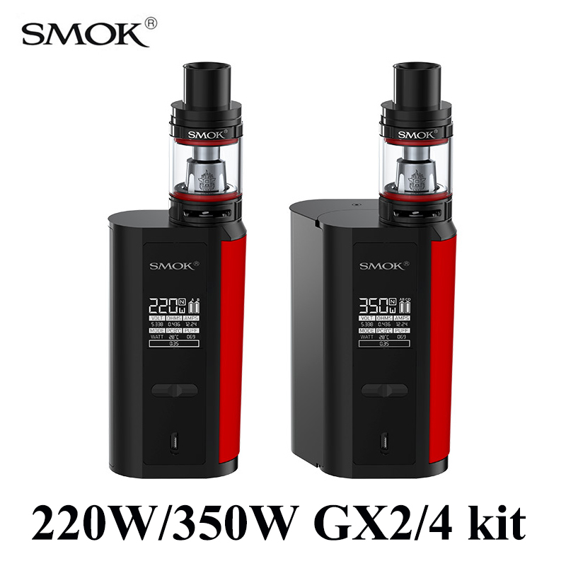 Vape SMOK GX2/4 kit Electronic Cigarette 2 Style Alien Kit Vaporizer E Cigarette Mech Box Mod With TFV8 Big Baby Tank S074 чайник scarlett чайник scarlett sc ek14e04 white blue